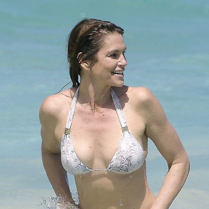 The 4 Classic Swimsuit Styles Celebs Over 50 Always Wear