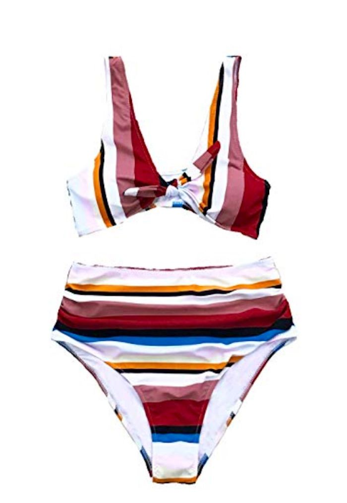 1faf1d7de3 6 Summer Swimwear Trends You Can Buy on Amazon Right Now | Who What Wear