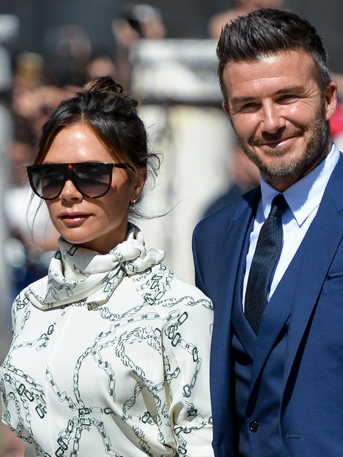 Victoria Beckham Broke A Traditional Wedding Guest Rule Who What Wear