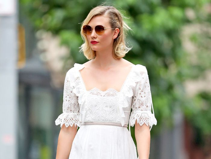Karlie Kloss Wore the Prettiest Casual Dress for Her Second Wedding