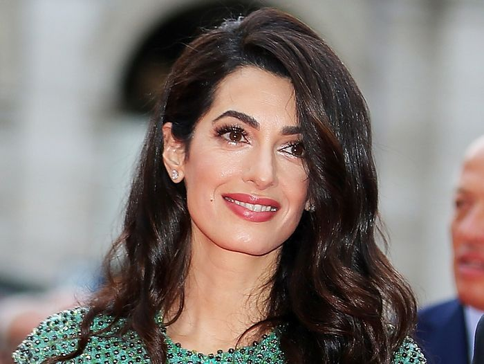 Amal Clooney Wore a Dreamy Gucci Dress With Michelle Obama in Italy
