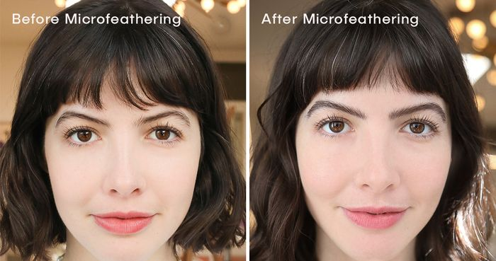 The Queen of Microfeathering Transformed My Sparse Brows—See the Before & After
