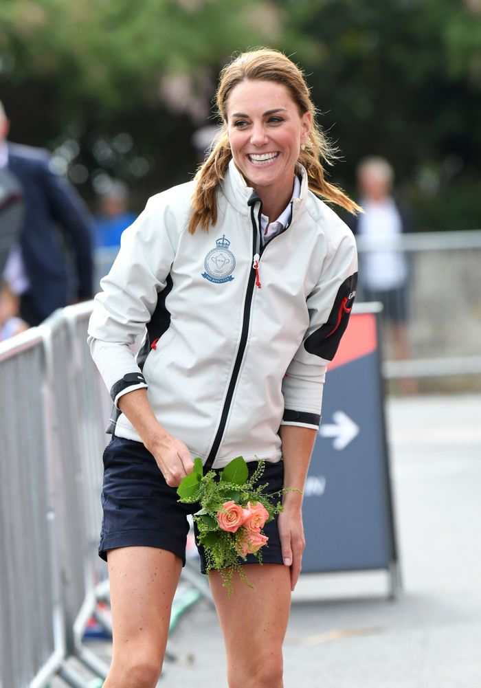 Kate Middleton Wears Shorts for the First Time in 8 Years, Is Happy as Heck