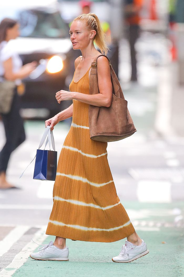 Kate Bosworth Found the $80 Dress to Wear With Fall's Biggest Sneaker Trend