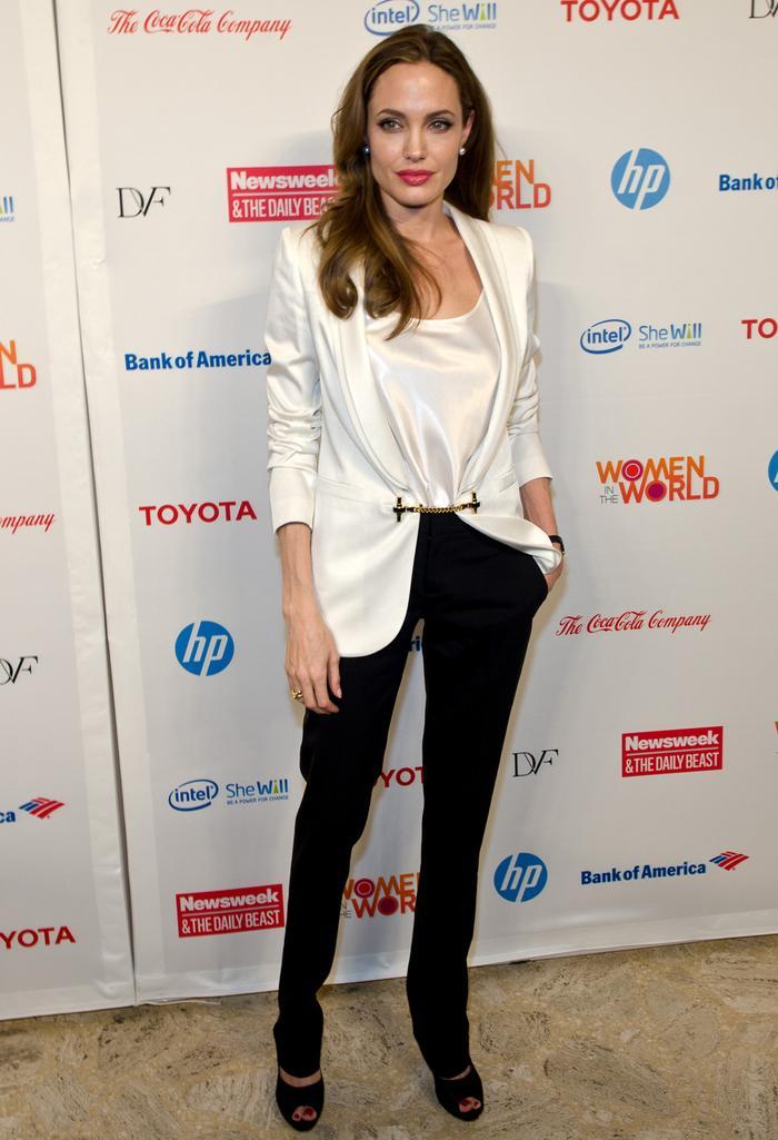The 9 Pillars of Angelina Jolie's Super-Chic Minimalist Wardrobe