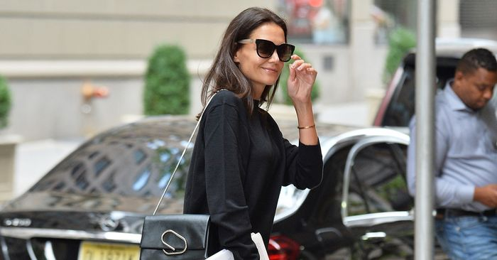 FYI: Katie Holmes' $50 Zara Shoes Look Really Good With Jeans