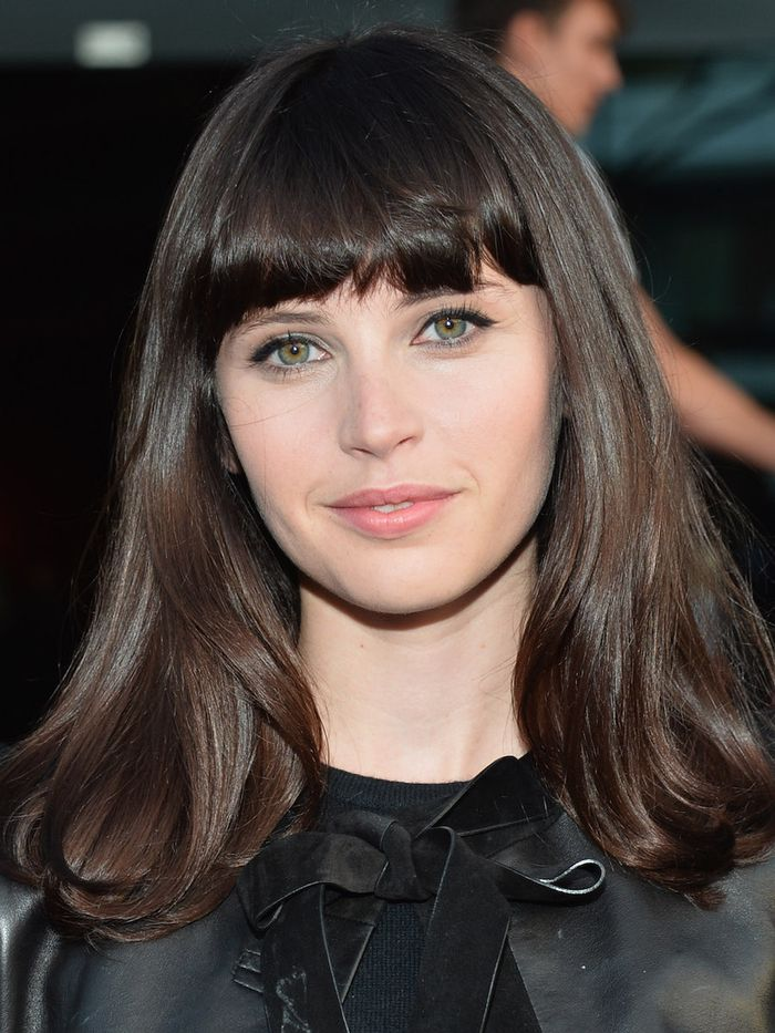 The Best Full Fringe Hairstyles and How to Pull Them Off ...