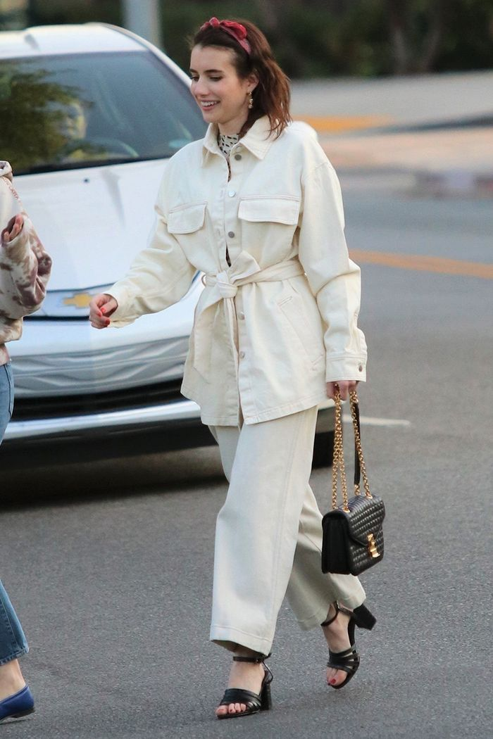 Emma Roberts Wore a $130 H&M Outfit That Straight-Up Looks Designer