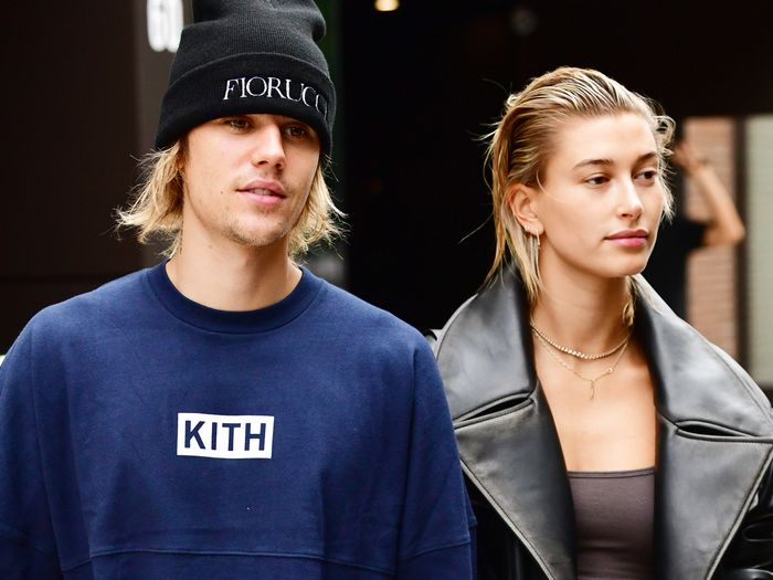 Hailey Bieber Just Revealed Her Dramatic Wedding Dress Train and Unique Veil