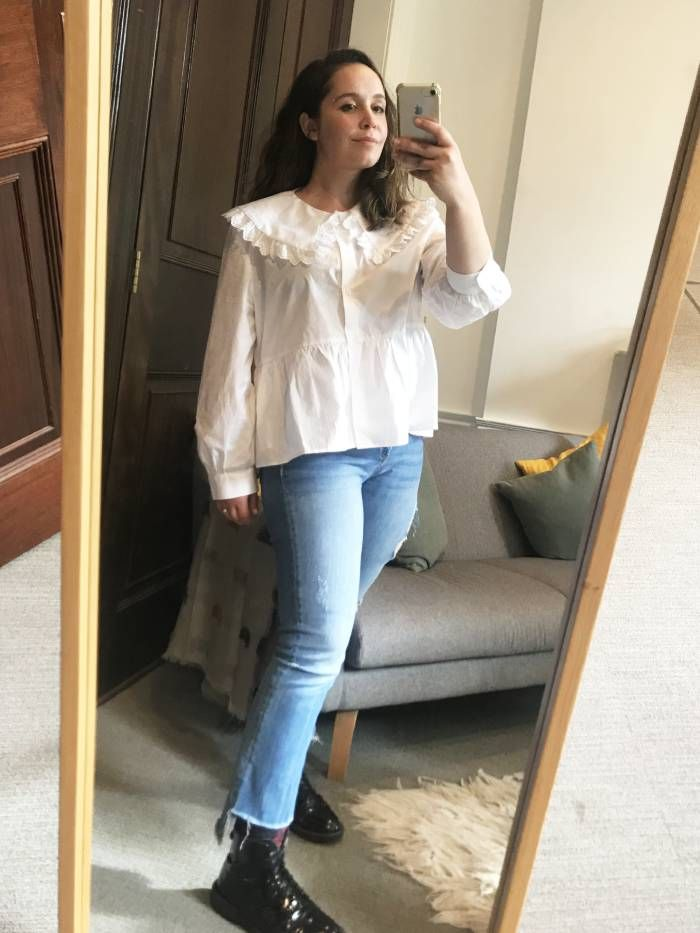 """I'm 5'3"""" and Think That Zara's Jeans Are the Best on the High Street"""