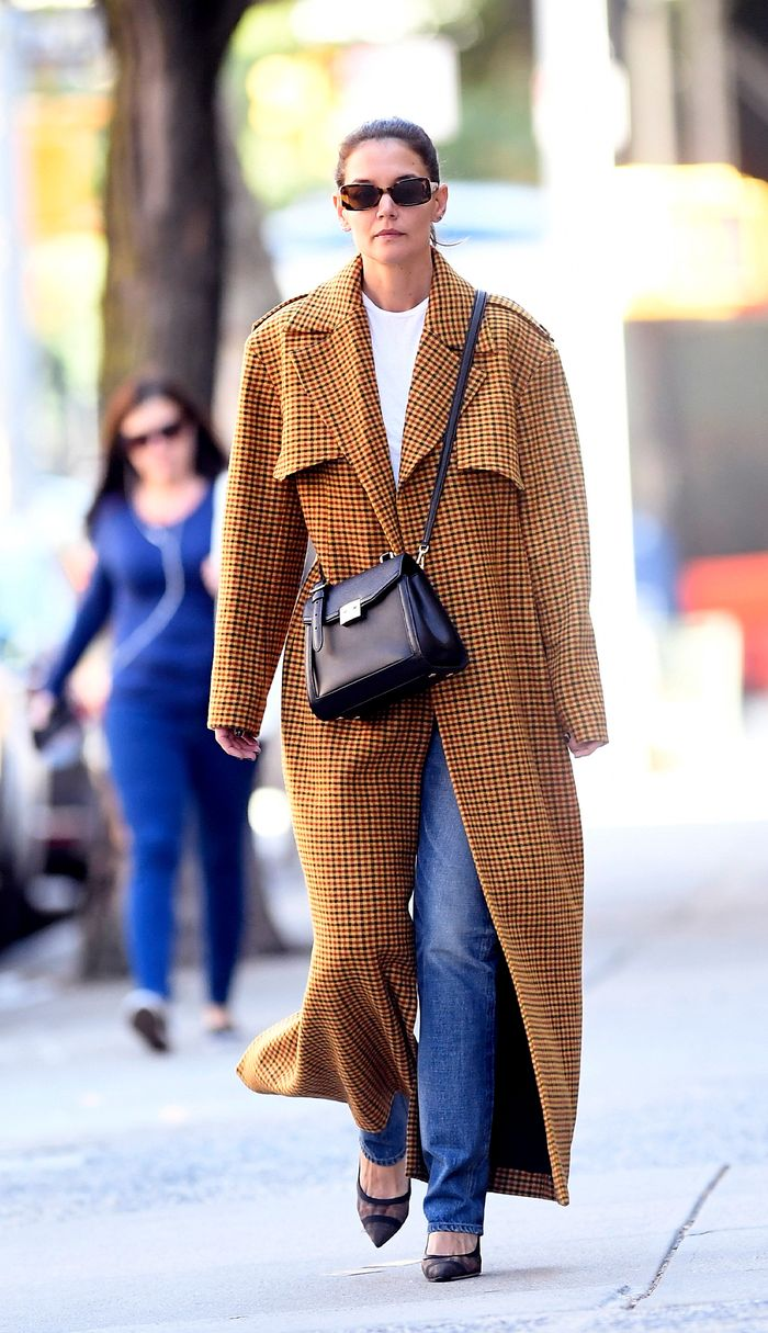 7 Katie Holmes Outfits I Plan on Wearing in My 40s