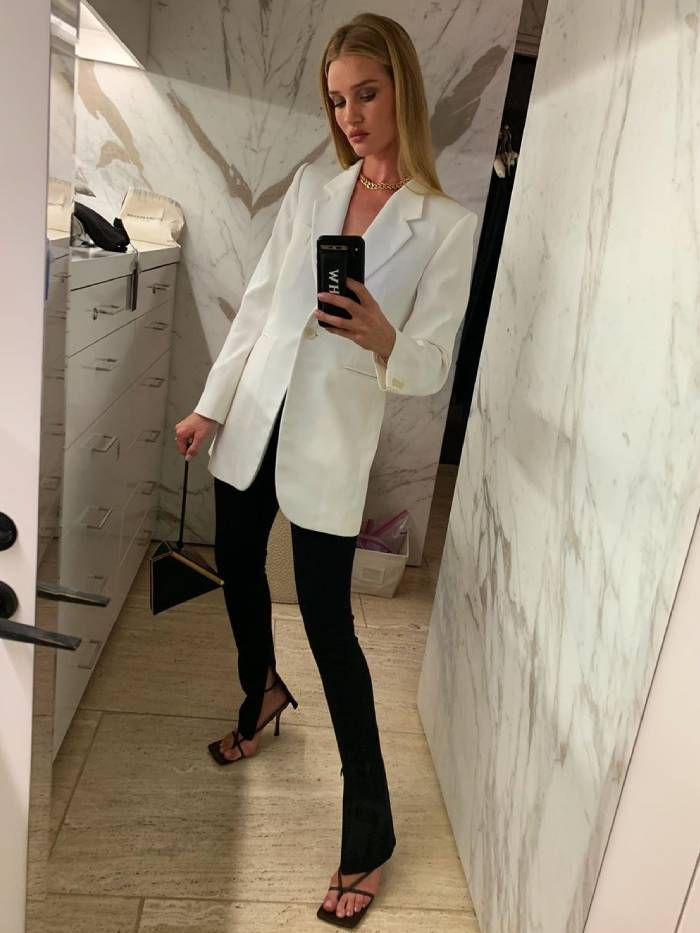 Rosie HW Just Revealed the 9 Pieces That Make Up Her Autumn Capsule Wardrobe