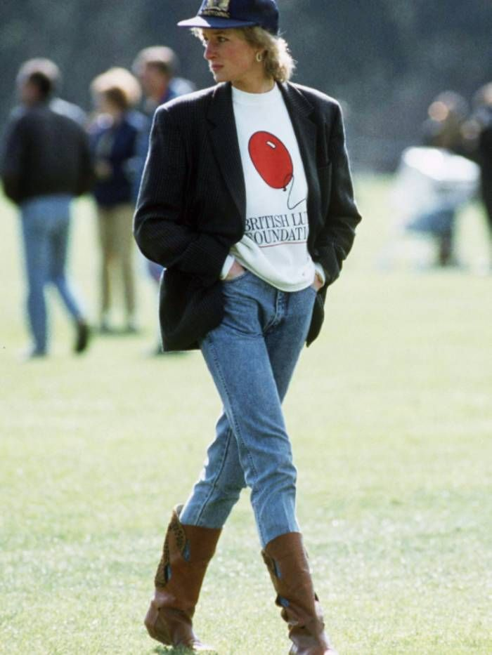 6 Princess Diana Outfits That Will Make You Want to Live in Jeans and Blazers