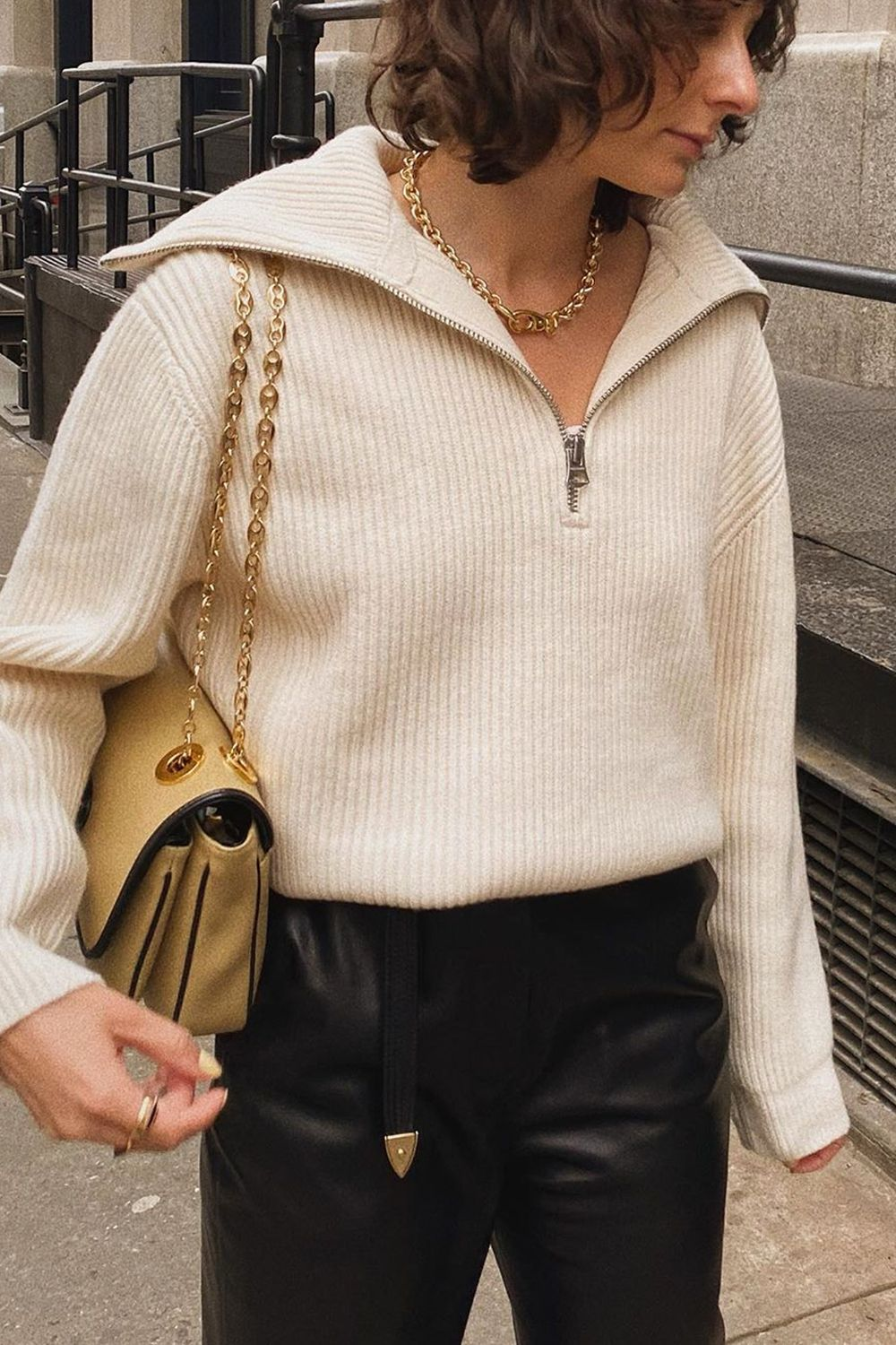"""This Jumper Trend Is 2020's Answer to """"Dad"""" Trainers"""