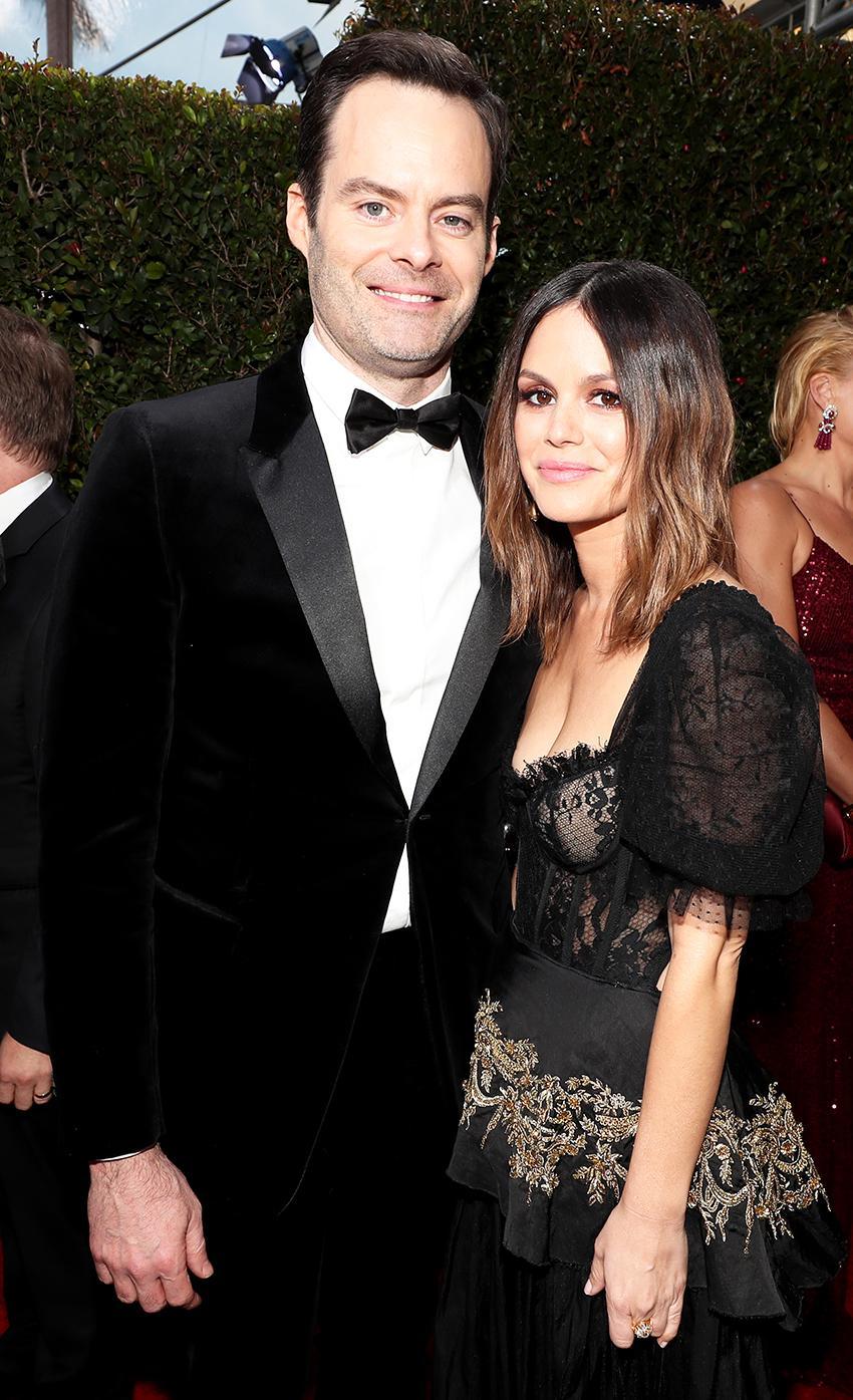 Rachel Bilson & Bill Hader Confirm Their New Relationship in Coordinating Looks