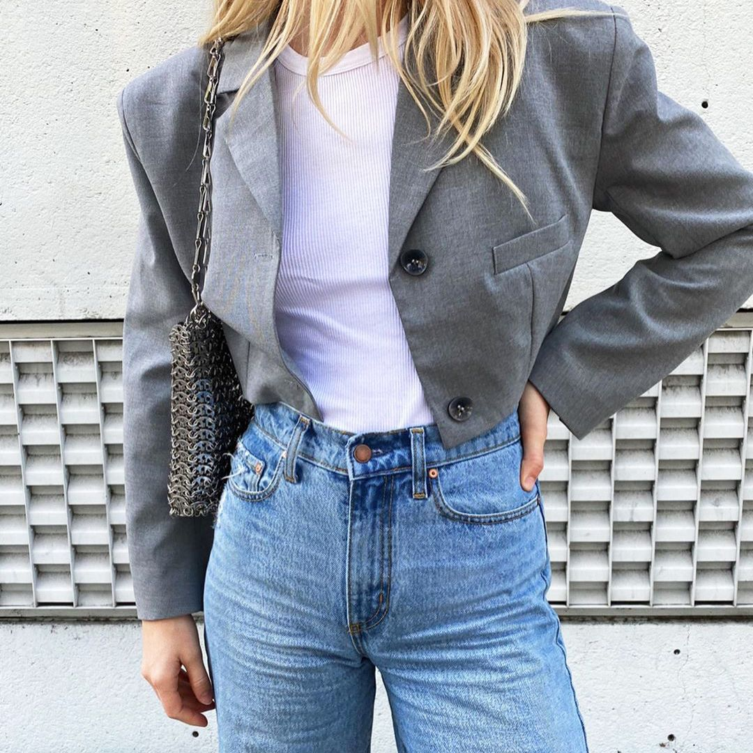 My Jeans Never Hit Below My Belly Button—These Are the Only Brands I'll Wear