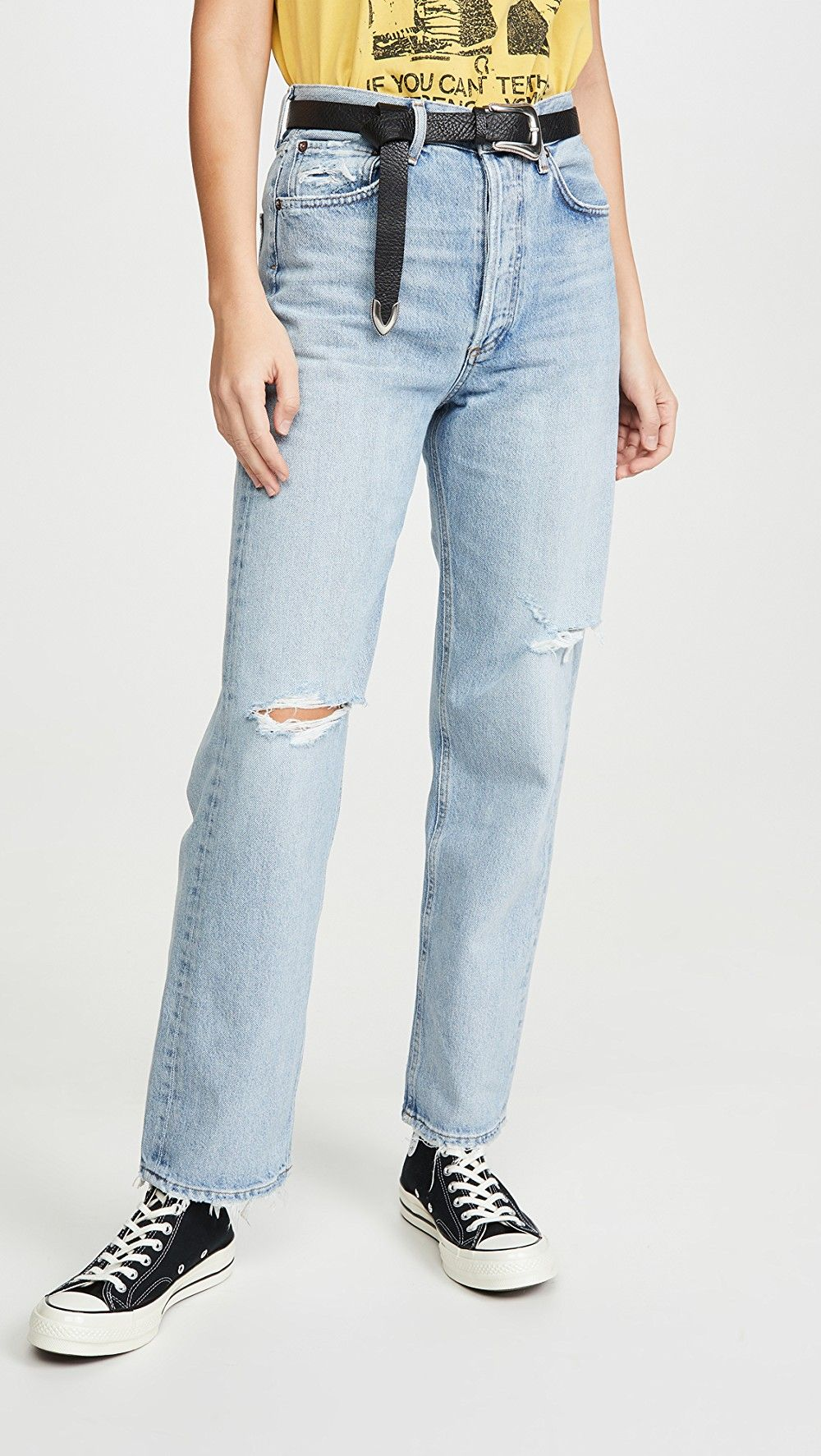 My Jeans Never Hit Below My Belly Button—These Are the Only Brands I'll Wear 8