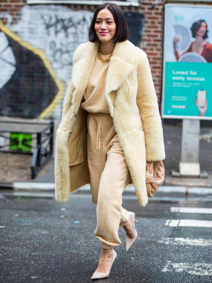 How the Fashion Set Is Styling Tracksuits This Spring