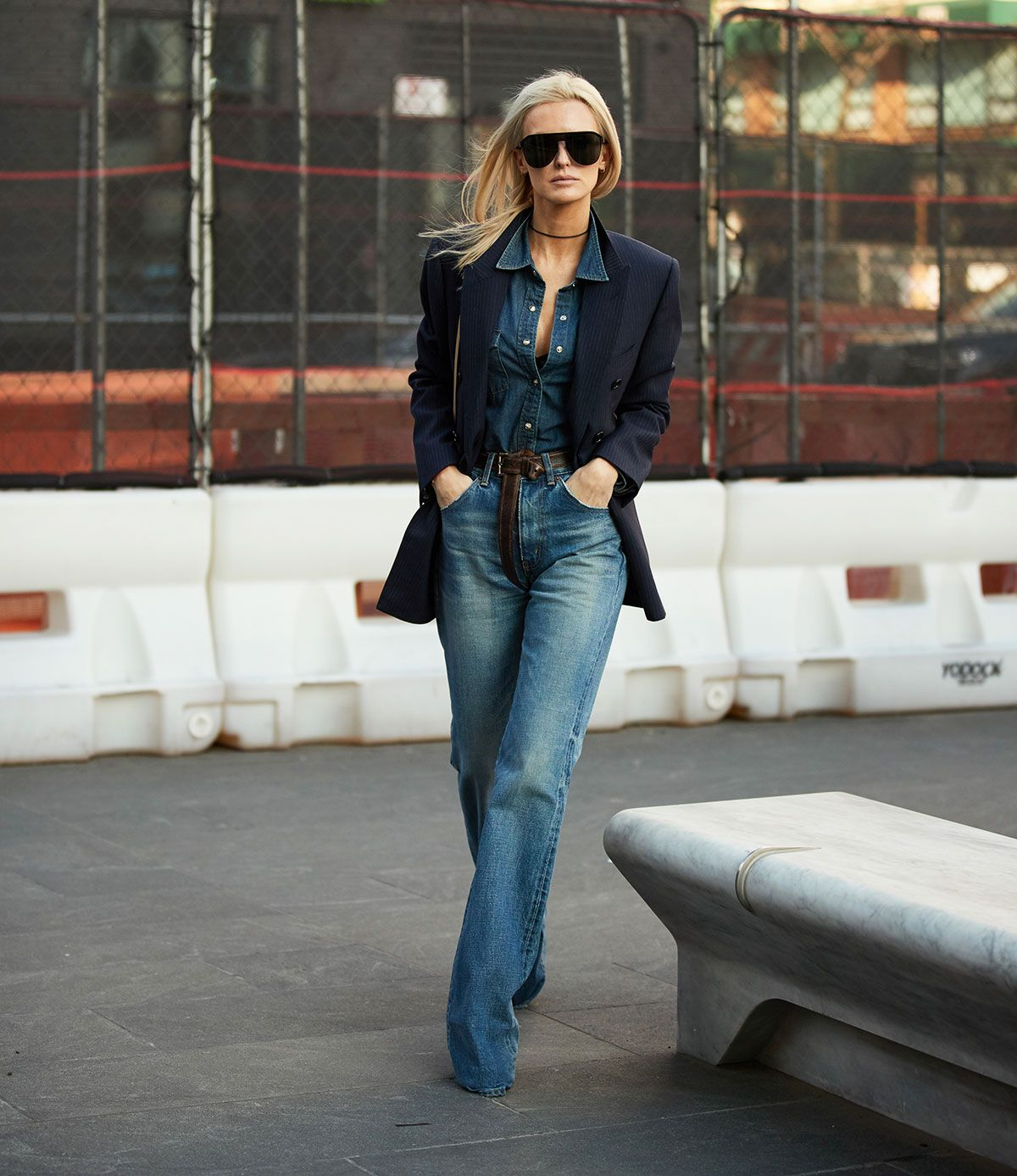 My Friend Asked What to Wear With Flare Jeans, and I Suggested These 6 Basics 6