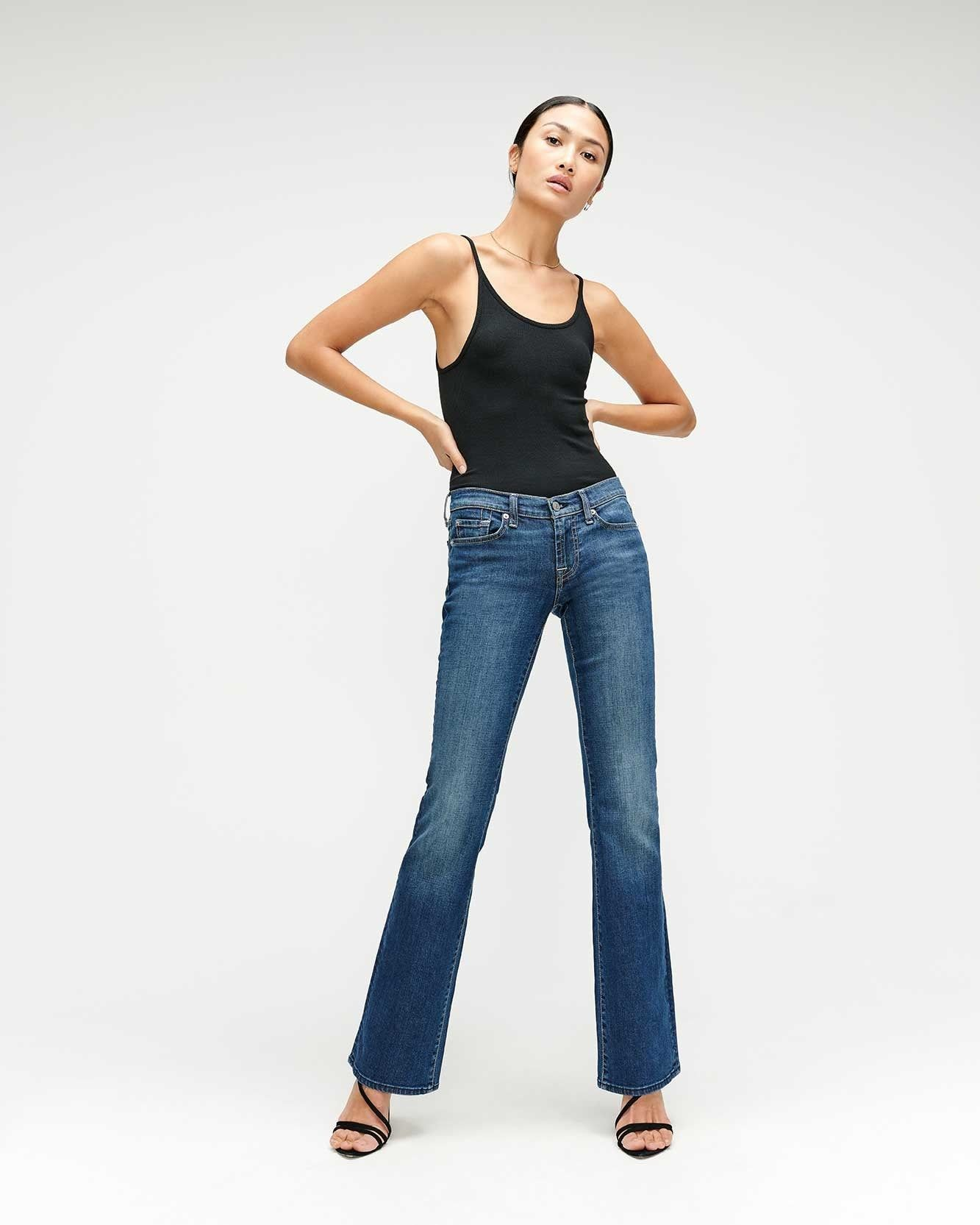 My Friend Asked What to Wear With Flare Jeans, and I Suggested These 6 Basics 5