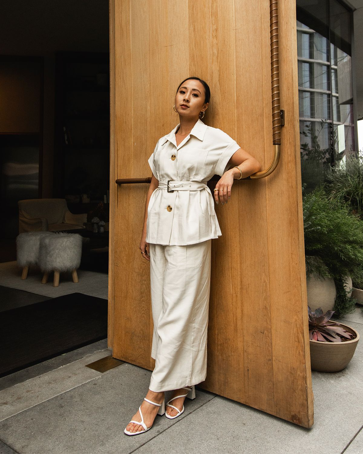 8 Wide-Leg Pant Outfits That Will Make You Want to Ditch Your Skinny Jeans ASAP 9