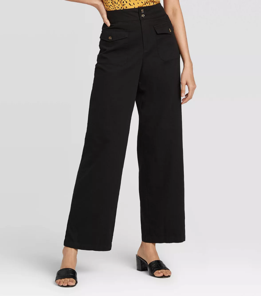 8 Wide-Leg Pant Outfits That Will Make You Want to Ditch Your Skinny Jeans ASAP 12