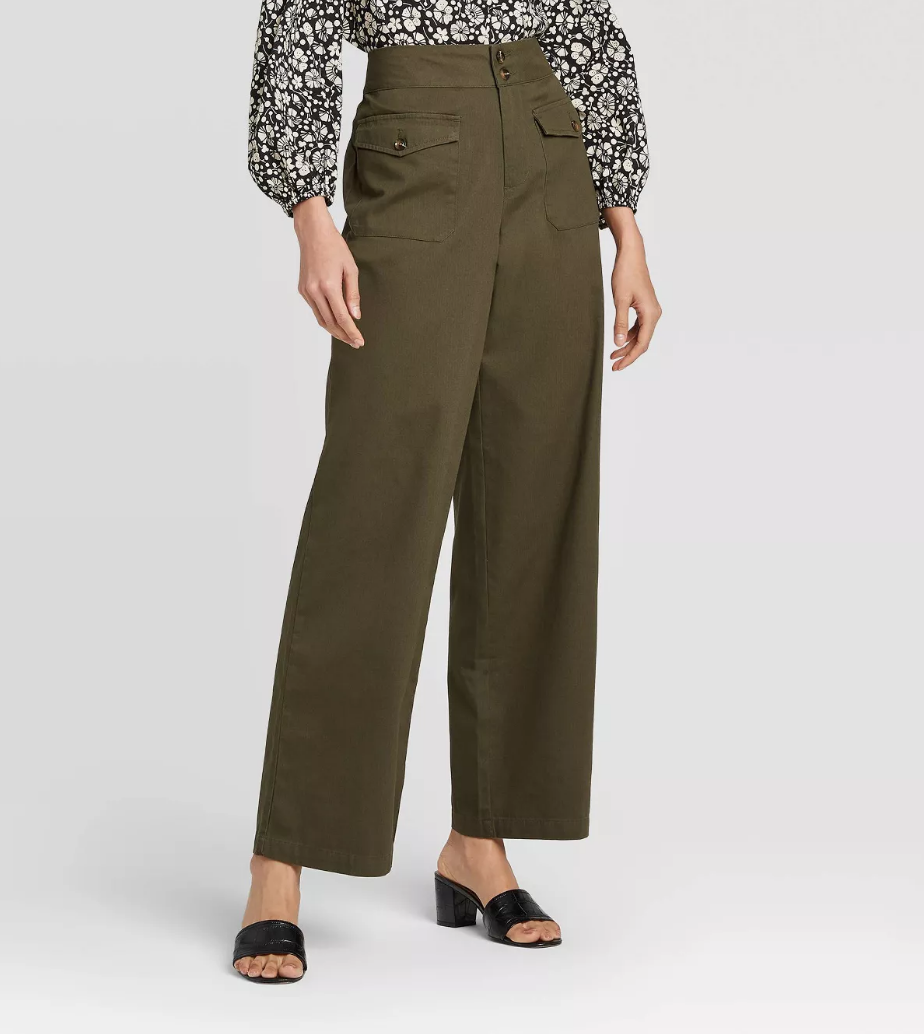 8 Wide-Leg Pant Outfits That Will Make You Want to Ditch Your Skinny Jeans ASAP 14