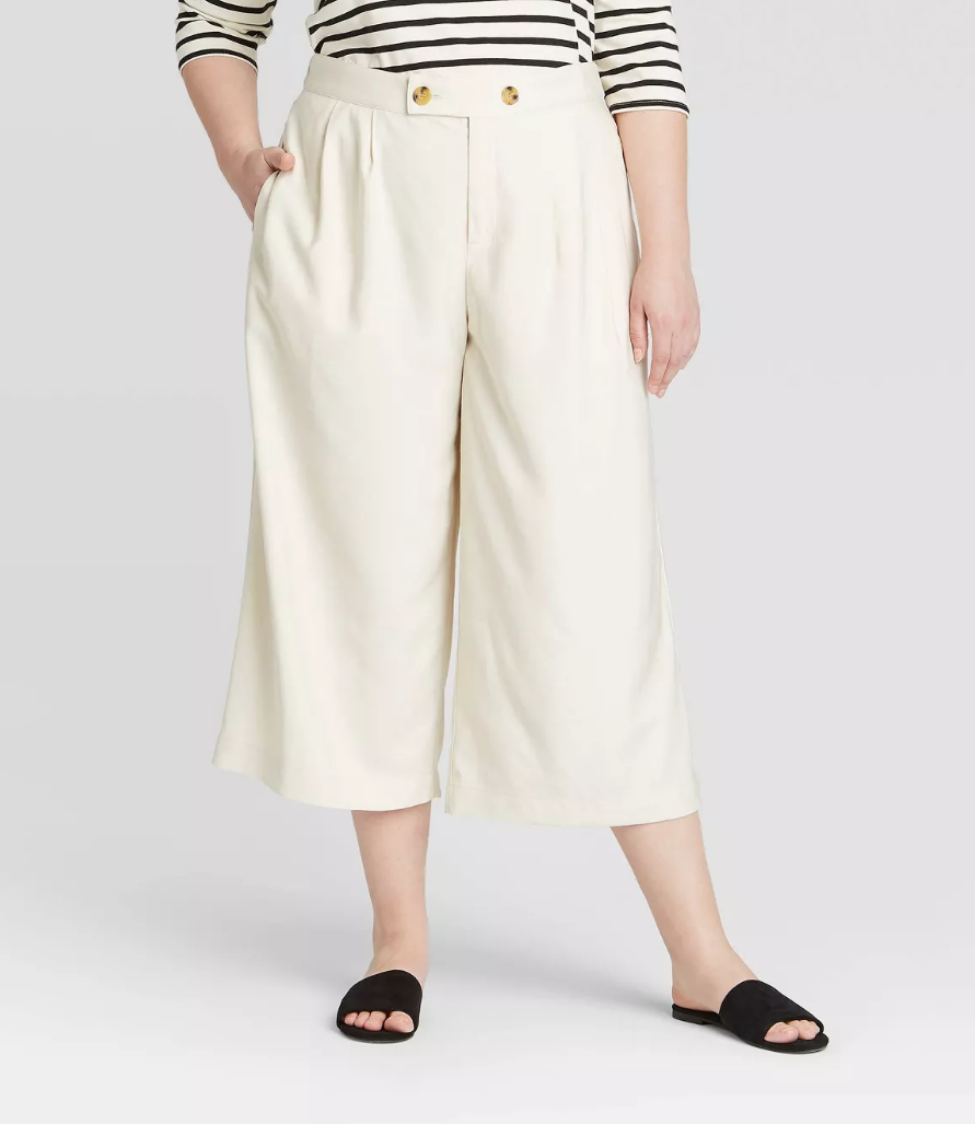 8 Wide-Leg Pant Outfits That Will Make You Want to Ditch Your Skinny Jeans ASAP 10