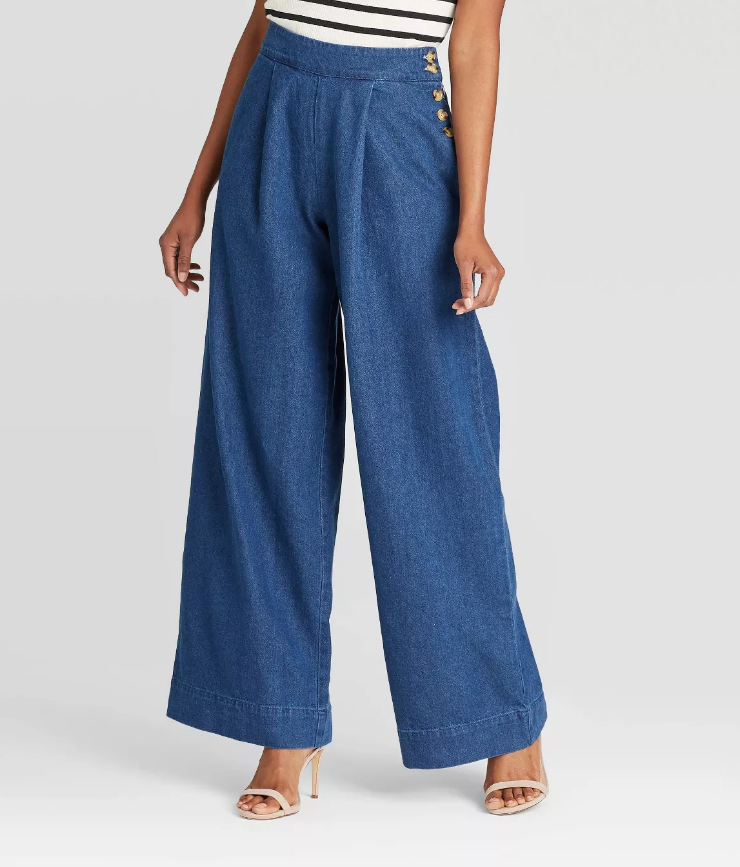 8 Wide-Leg Pant Outfits That Will Make You Want to Ditch Your Skinny Jeans ASAP 8