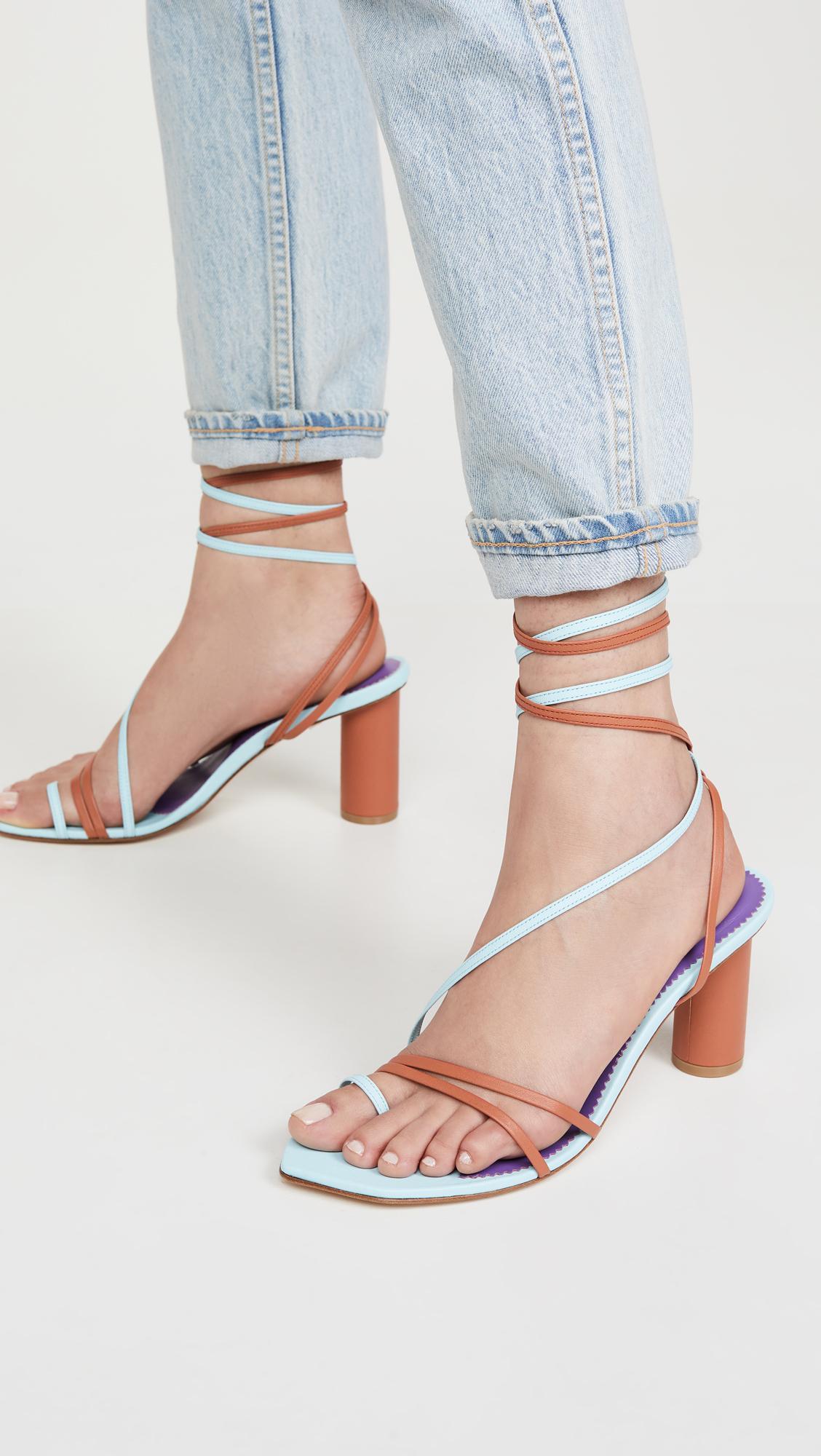 Emily Ratajkowski's Shoes Are Spring's Weirdest Sandal Trend 9