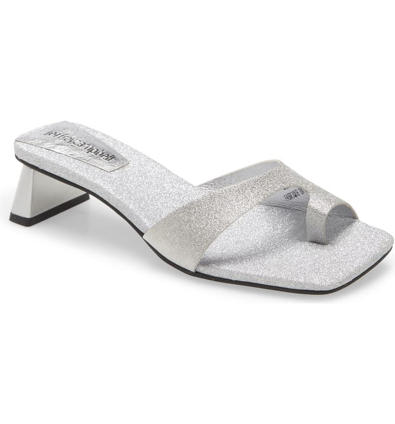 Emily Ratajkowski's Shoes Are Spring's Weirdest Sandal Trend 13