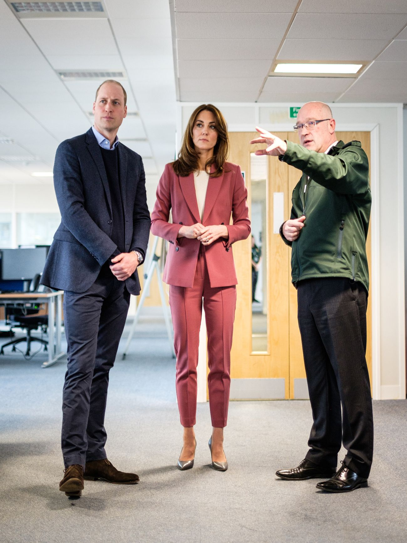 Kate Middleton Just Visited an Ambulance Call Center to Thank Employees