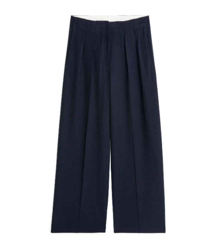 Wheat Baby Boys Ashley Blue Cotton Trouser Pants Perfect Summer Pants with Elastic Ribbed Waist and Tie Strings.