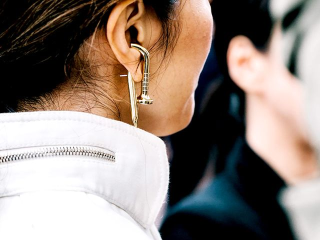 Double Sided Earrings The Must Try Jewelry Trend Who
