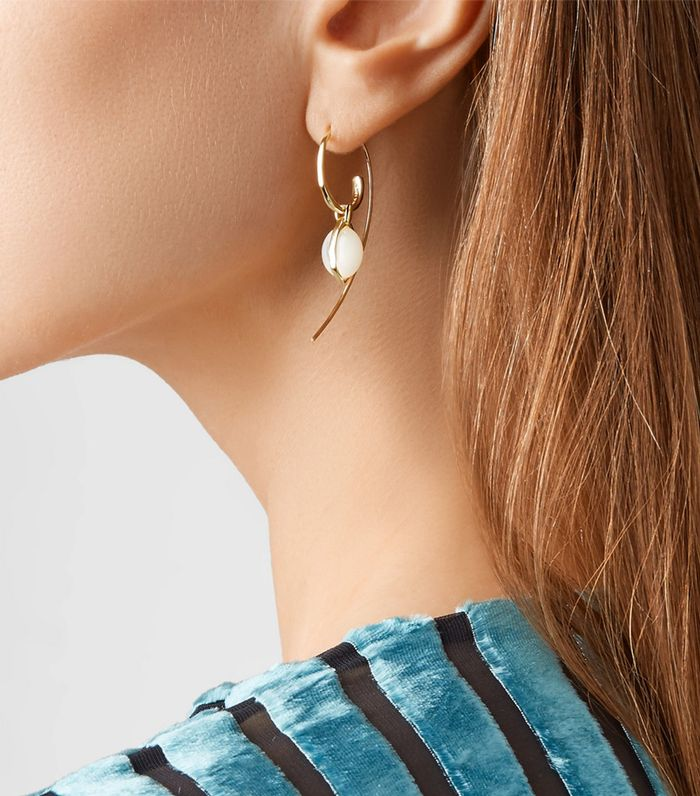 How To Try The Double Sided Earring Trend Who What Wear