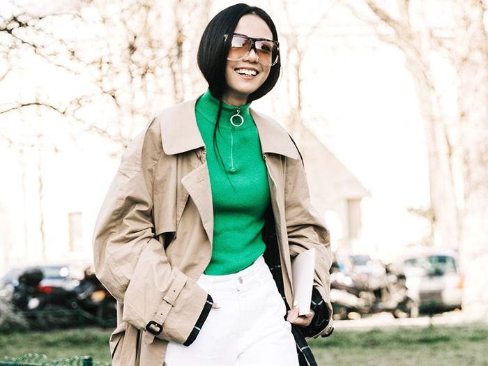 e36f70c344e 11 Fresh Trench Coat Outfits to Try This Fall
