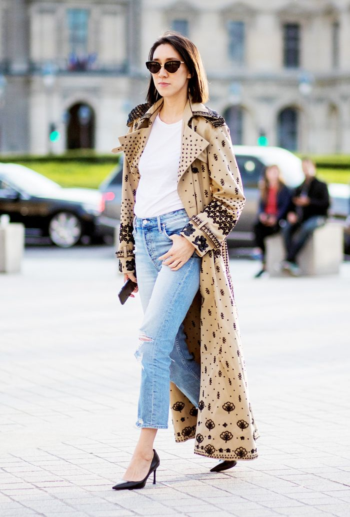 11 Fresh Trench Coat Outfits to Try This Fall | Who What Wear