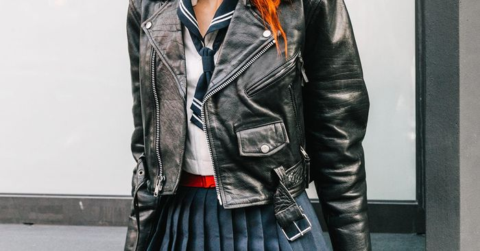350929fd5 How to Wear a Motorcycle Jacket | Who What Wear