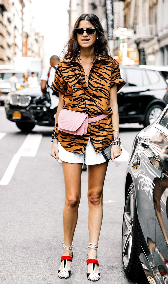 Instead of Bermuda shorts, try classic shorts.