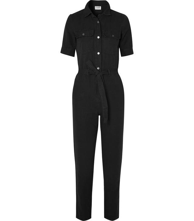 Cotton And Linen-blend Jumpsuit