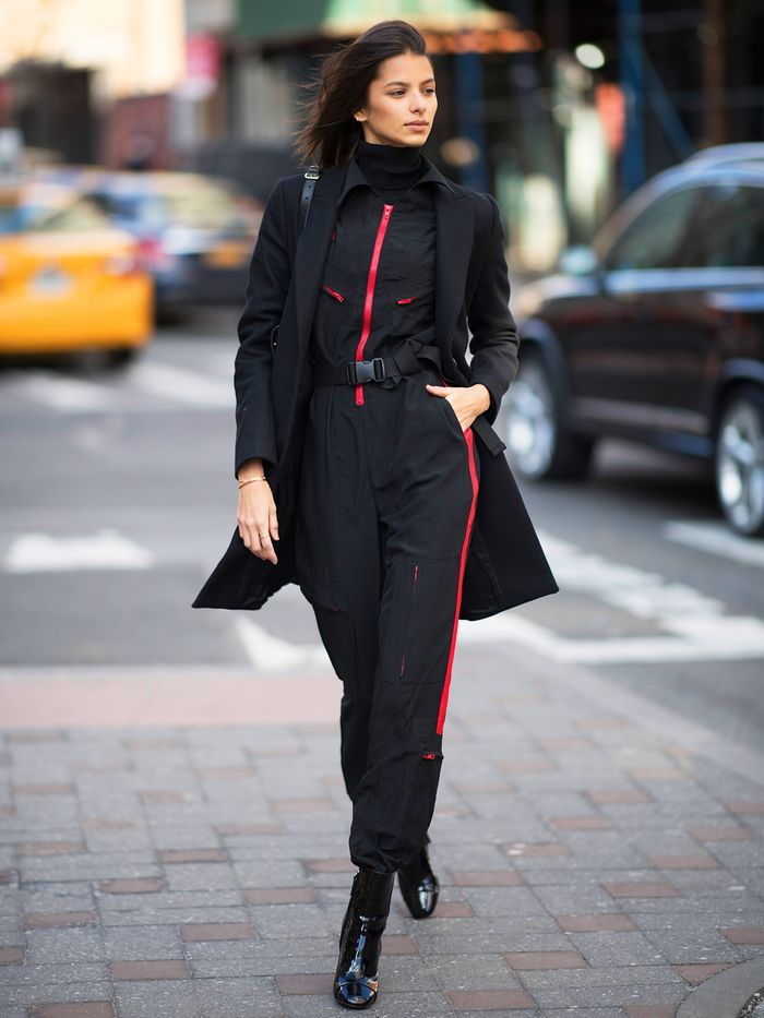 How To Wear A Jumpsuit Who What Wear