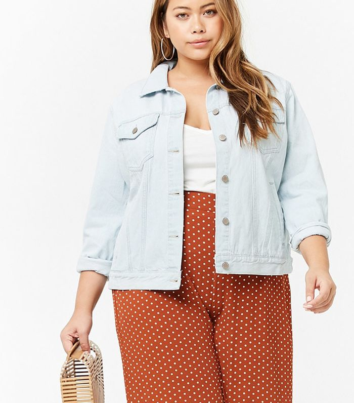 How to Wear the Oversize Denim Jacket Trend | Who What Wear