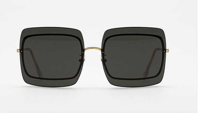 Super Gia Black Sunglasses