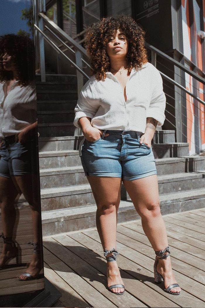 e071ae836e The Perfect Guide for How to Make Denim Cutoff Shorts | Who What Wear