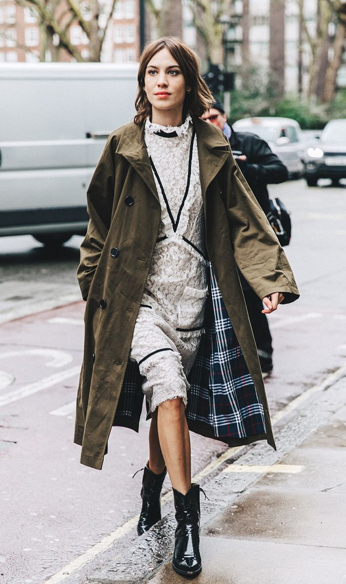 How to Get Alexa Chung\u0027s Cool,Girl Style