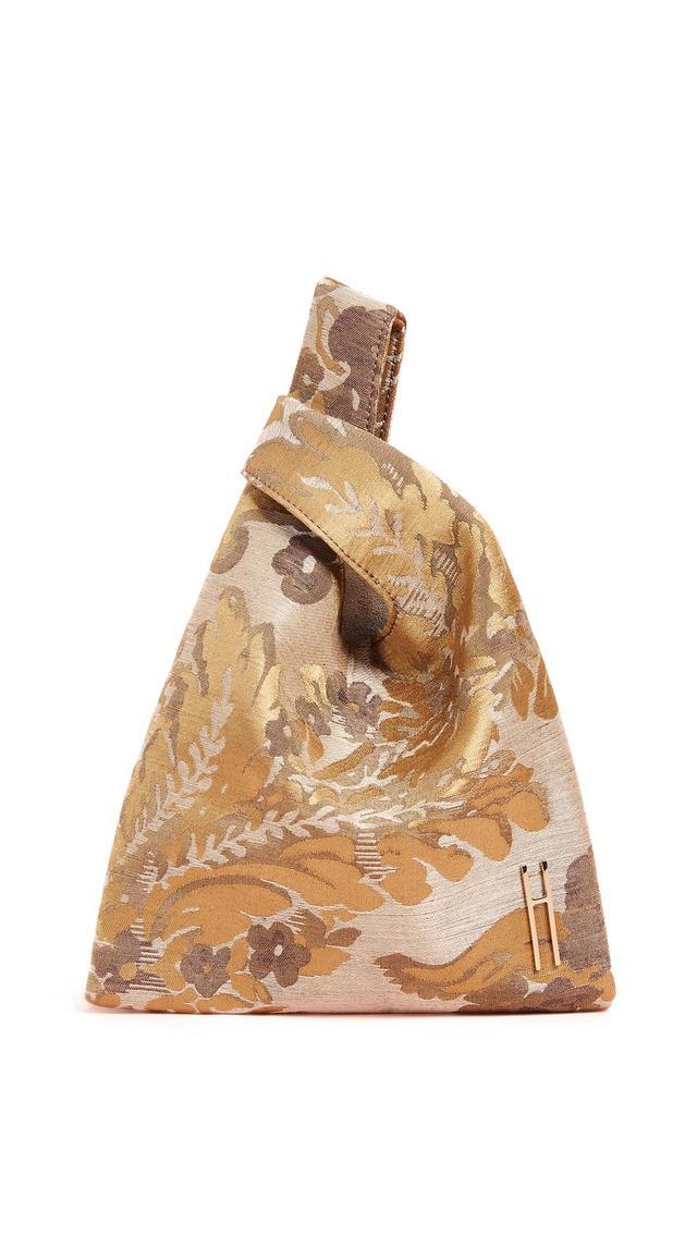 Venetian Silk Jacquard Mini Shopper