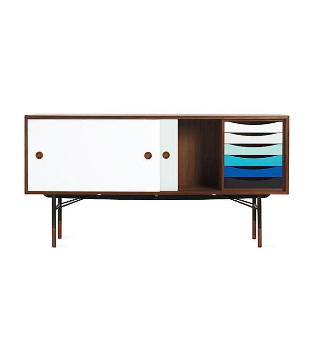 Designed by Finn Juhl for House of Finn Juhl Credenza