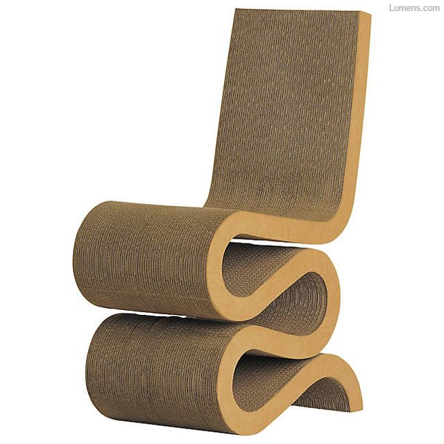 Frank Gehry for Vitra Wiggle Side Chair