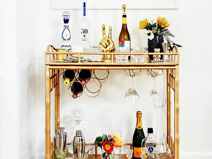 The Beginner\'s Guide to Setting Up a Bar at Home | MyDomaine