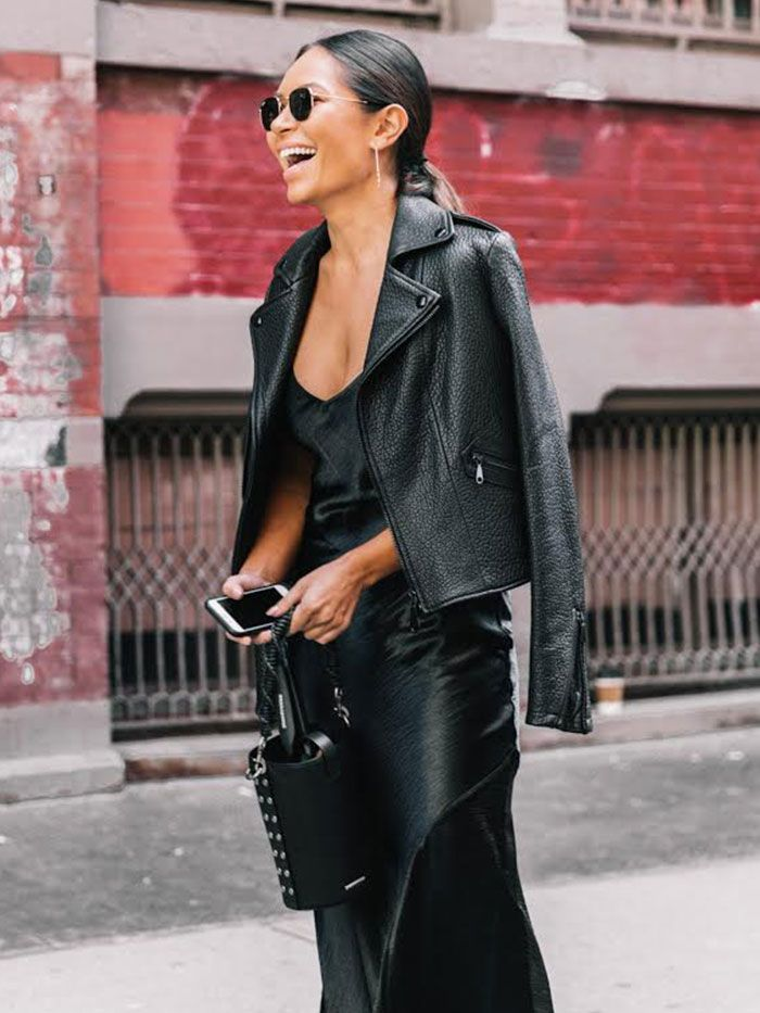 17 Reasons To Finally Invest In A Leather Jacket This Fall Who